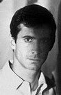 Anthony Perkins in half light, circa 1960