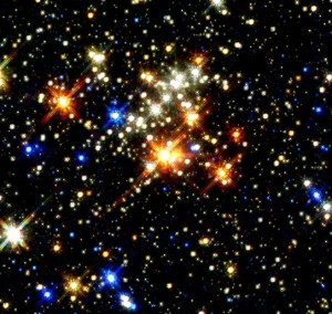 photo of star cluster