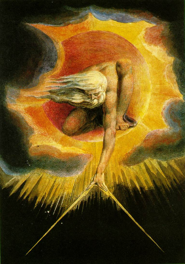 "Blake's painting, "" The Ancient of Days"""